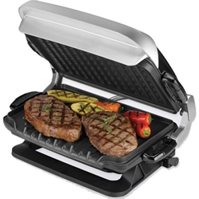 George foreman grp4emb kitchen bistro g4 for B kitchen glass grill
