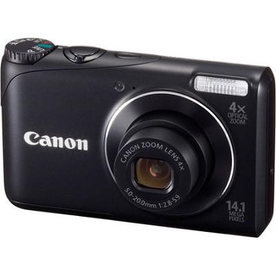 buydig     canon powershot a2200 14mp black digital