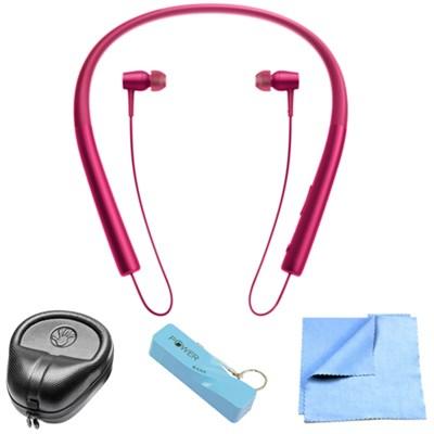 Sony neck earphones bluetooth - pink bluetooth earbuds sony