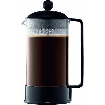 Bodum Coffee Maker Replacement Glass : BuyDig.com - Bodum Brazil 8 Cup French Press Coffee Maker 34 oz Glass Carafe - Black - OPEN BOX