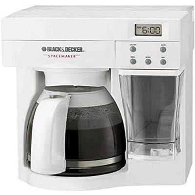 Black And Decker Spacemaker Coffee Maker White : BuyDig.com - Black & Decker ODC440W SpaceMaker Under The Counter 12-Cup Coffee Maker [white]
