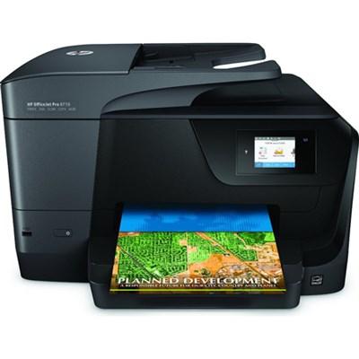 hewlett packard officejet pro 8710 photo wireless inkjet multifunction printer. Black Bedroom Furniture Sets. Home Design Ideas