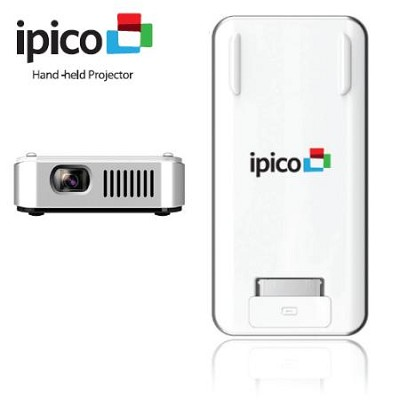General imaging pj205 ipico hand held for Ipod projector
