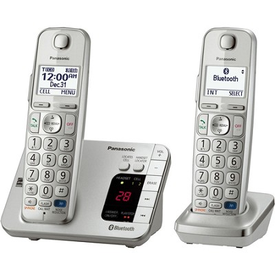 Panasonic Kx Tge262s Link2cell Bluetooth Enabled Phone