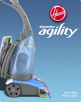 BuyDigcom Hoover SteamVac Agility Carpet Cleaner Steamer