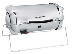 George Foreman Stainless Outdoor Propane Grill   GP324SS