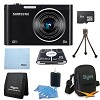 Samsung 8 GB Bundle DV300F 16 MP 5X Wi-Fi Digital Camera Black