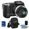 Olympus 4 GB Kit SP-620UZ 16 MP 3-inch LCD Black Digital Camera E1OMSP620UZK