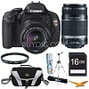 Canon EOS Rebel T3i 18MP SLR Camera 18-55mm IS + 55-250mm Ultimate Kit Deals