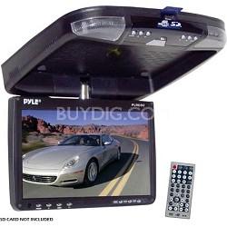 9 inch Flip Down Monitor and DVD player w/ Wireless FM Modulator IR Transmitter