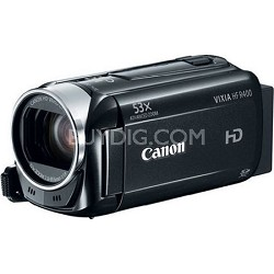 "VIXIA HF R400 HD 53x Image Stabilized Optical Zoom Camcorder  3"" LCD Refurbished"