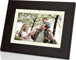 DP702 7 inch Widescreen Digital Photo Frame with Multimedia Playback