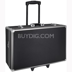 XT-HC60 Large Hard Photographic Equipment Case with Carrying Handle and Wheels