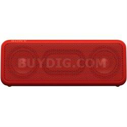 SRSXB3 Portable Bluetooth Wireless Speaker - Red - OPEN BOX