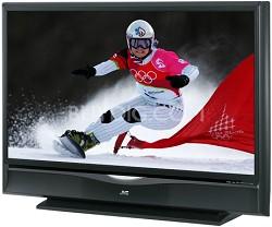 "HD-61G787 HD-ILA 61"" High-definition LCoS Rear Projection TV (Black)"