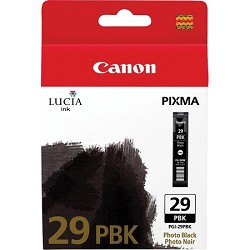 PGI-29 PBK - LUCIA Series Photo Black Ink Cartridge for PIXMA PRO-1 Printer