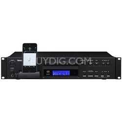 CD-200iL Professional CD-Player with 30-Pin and Lightning iPhone Dock