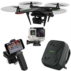 Xplorer G Quadcopter Aerial Drone w/3-Axis Gimbal GoPro HERO4 Bundle