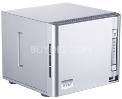 WDA4NC80000N 8TB ShareSpace Network Storage System - OPEN BOX