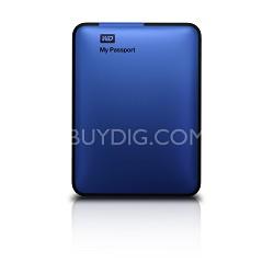My Passport 1 TB USB 2.0/3.0 Portable Hard Drive -  (Blue) - OPEN BOX