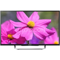 KDL50W800B - 50-Inch Premium LED HDTV 3D Built-In WiFi Motionflow XR 480
