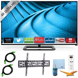 "P552ui-B2 - 55"" 240Hz 4K Ultra HD LED Smart TV Plus Tilt Mount & Hook-Up Bundle"