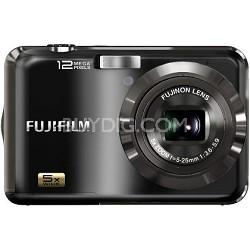 Finepix AX200 12 MP 5x Wide Angle Zoom Digital Camera (Black)