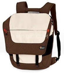 "Backpack Factor Laptop Bag - fits most 15.4"" Laptops - Espresso / Latte"