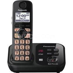 KX-TG4731B Dect 6.0 1-Handset Landline Telephone