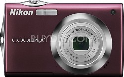 COOLPIX S4000 Digital Camera (Plum)