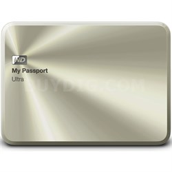 My Passport Ultra Metal Edition 1TB Gold - WDBTYH0010BCG-NESN - OPEN BOX