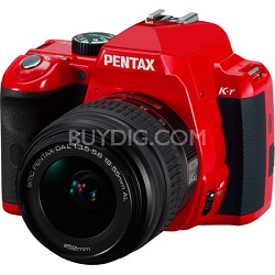 K-r Digital SLR Digital Camera Red w/ 18-55mm Lens