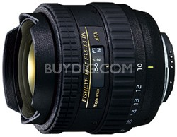 AT-X AF 10-17mm f3.5-4.5 DX Fisheye Lens for Canon Digital SLR Cameras