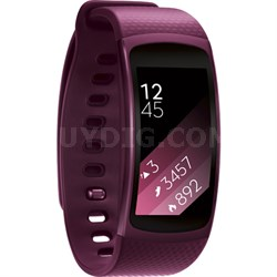 SM-R3600ZINXAR Gear Fit2 Smartwatch with Small Band - Pink