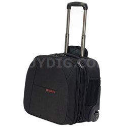 CT3 Checkpoint Tested Mobile Lite Wheeled Case in Black - C6020