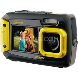 Duo2 2V9WP Rugged Dual Screen Waterproof Camera - Yellow