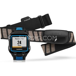 Forerunner 920XT Multisport GPS Watch w/ HRM-Run Heart Rate Monitor - Black/Blue