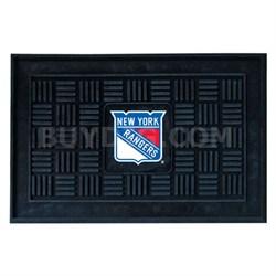 NHL New York Rangers Vinyl Heavy Duty Door Mat