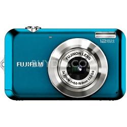 FINEPIX JV100 12 MP Digital Camera (Blue)