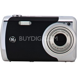 Create by Jason Wu 12MP Black Digital Camera with 3x Optical Zoom