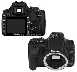 EOS Digital Rebel XTi Body (Black)  -  Lens Not Included - OPEN BOX