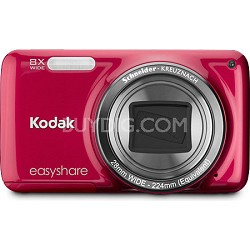 """EasyShare M583 14MP 3.0"""" LCD Red Digital Camera"""
