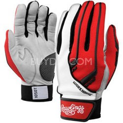 BGP1050T - 1050 Workhorse Batting Gloves, Scarlet, Small