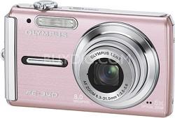 FE-340 8MP Digital Camera (Pink) - REFURBISHED