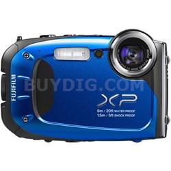 FinePix XP60 16 MP Waterproof Shockproof Freezeproof - Blue - ***AS IS***