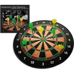 Premium Magnetic 1 to 20 Dart Game with 6 Darts