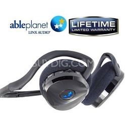 BT400B True Fidelity Behind the Head Sport Bluetooth  - Black - OPEN BOX