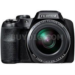 "FinePix S9900W 50X Optical Zoom Digital Camera with 3.0"" LCD (Black) - OPEN BOX"
