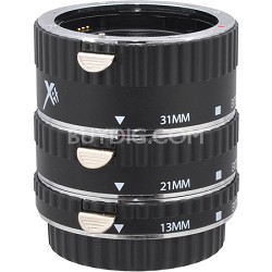 Auto Focus Macro Extension Tube for Canon (13mm, 21mm & 31mm)