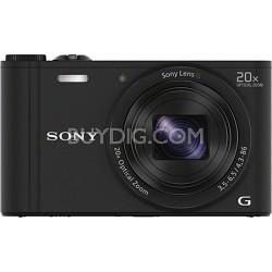 Cyber-shot DSC-WX350 Digital Camera (Black)